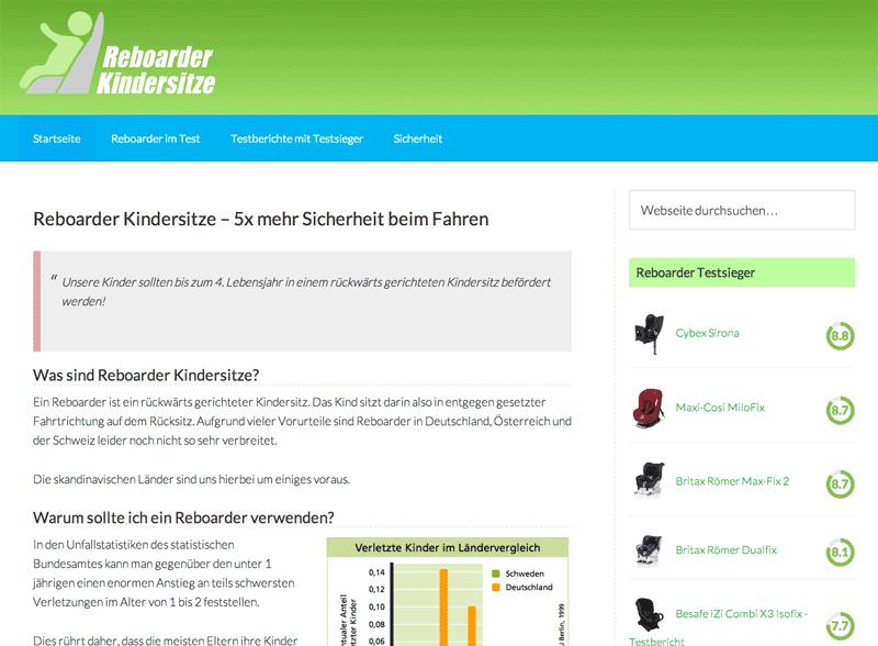Rebaorder-Kindersitze.com - Screenshot